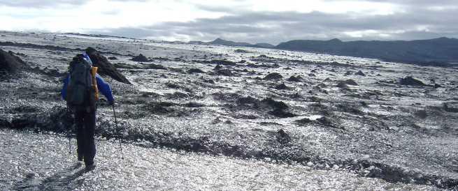 Auf dem Vatnajökull